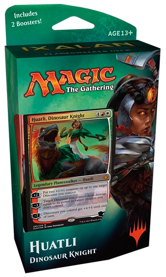 Magic : The Gathering Planeswalker Deck Ixalan - Huatli Planeswalker Ally Deck List